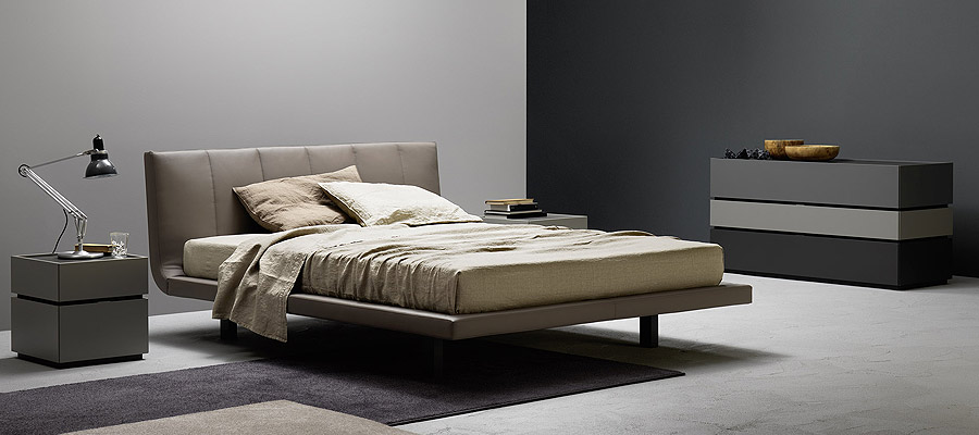 At Modern Living, Our Italian Made Bedroom Furniture Collection Offers Lush  Textures And Contemporary Shapes And ...